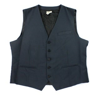 Kenneth Cole Reaction NEW Indigo Blue Mens Size Small S Dress Vest