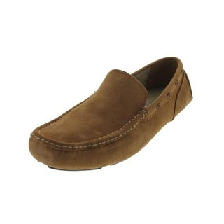 Marc New York Mens Astor Leather Slip On Driving Moccasins - 7.5 medium (d)