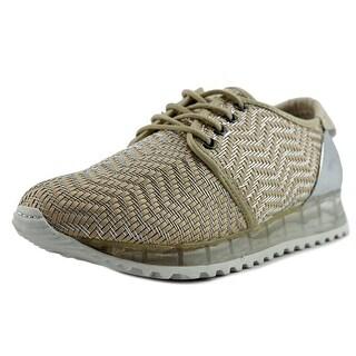 Sixtyseven 78600 Women Ecru/Silver Sneakers Shoes