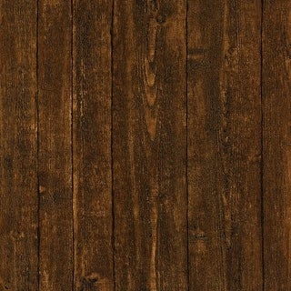 Brewster 412-56912 Ardennes 56 Sq.Ft. Wood Imitating Wallpaper - One Roll
