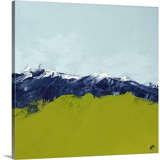 """""""Abstract Landscape"""" Canvas Wall Art"""
