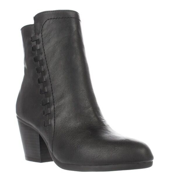 Aerosoles Vitality Side Zip Ankle Boots, Black