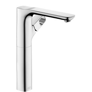 Axor 11035 Urquiola Single Hole Bathroom Faucet with EcoRight, Quick Clean, and ComfortZone Technologies - Less Drain Assembly