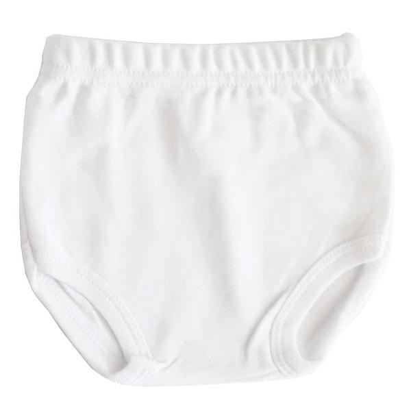 White Interlock T- Shirt & Panty Set - Size - Newborn - Unisex
