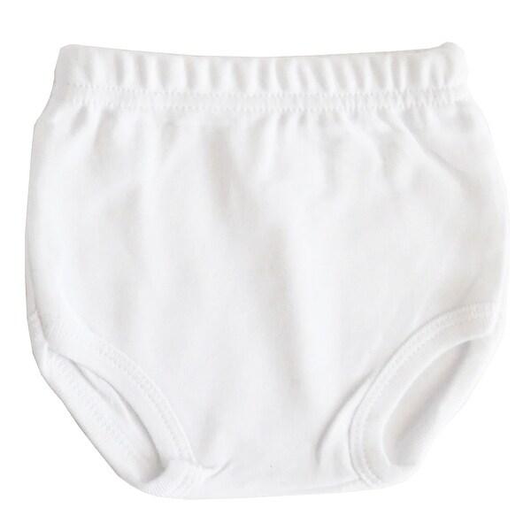 White Interlock T- Shirt & Panty Set - Size - Small - Unisex