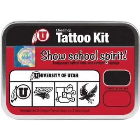 Clearsnap CS19626 University of Utah Collegiate Tattoo Kit