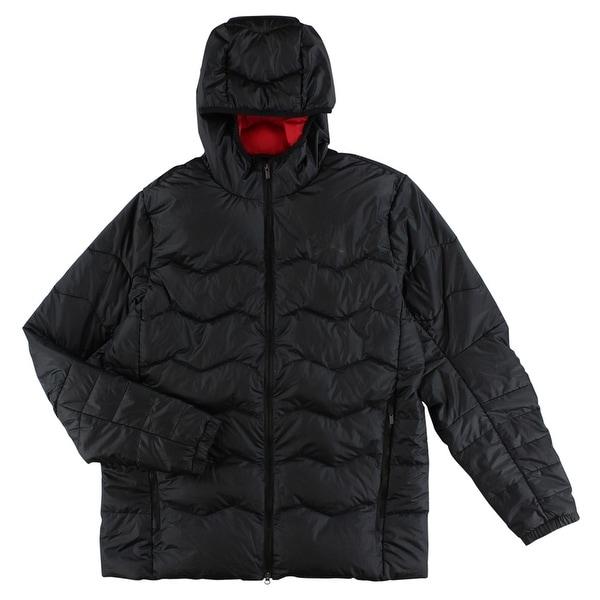 4d69b61c2ad7f9 Shop Jordan Mens Flight Hyperply Down Jacket Black - Black Red - L - Free  Shipping Today - Overstock - 22545062