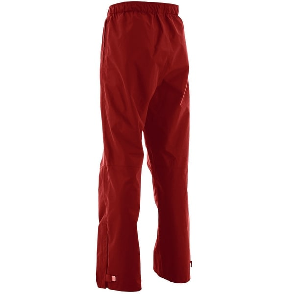 Huk Men's Performance Packable X-Large Red Packable Fishing Rain Pants