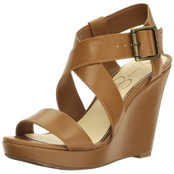 Jessica Simpson Womens joilet Open Toe Casual Ankle Strap Sandals