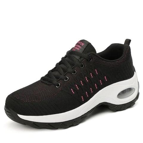 Lightweight Platform Walking Sneakers
