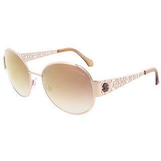 Roberto Cavalli RC801S/S 28F ALCHIBA Rose Gold Oval sunglasses