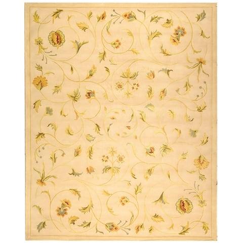 Safavieh Handmade French Tapis Dyan Shabby Chic Oriental Wool Rug
