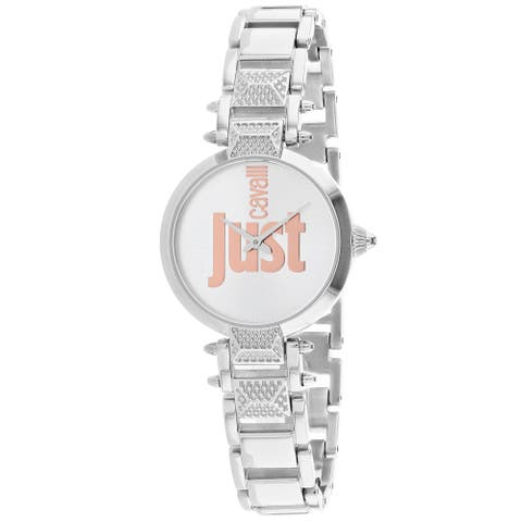 Just Cavalli Women's Just Mio Silver Dial Watch - JC1L076M0075 - One Size