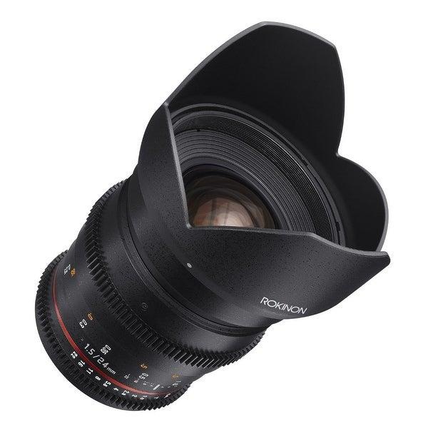 Rokinon DS 24mm T1.5 Cine Lens for Micro Four Thirds (MFT) Digital Cameras - Black