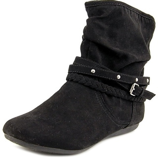 Report Elson Round Toe Synthetic Bootie