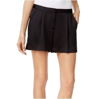 Michael Kors NEW Black Women's Size 6 Pleated Solid Seamed Shorts