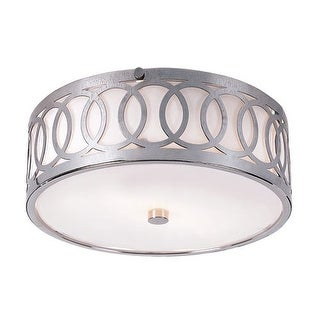 Trans Globe Lighting MDN-900 Two Light Flush Mount Ceiling Fixture from the Contemporary Collection
