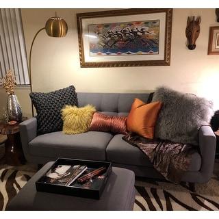 "Safavieh Lighting 66-inch Belami Floor Lamp - Gold - 12"" x 12"" x 66"""