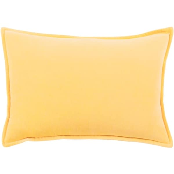 "13"" x 19"" Calma Semplicita Goldenrod Yellow Decorative Throw Pillow"