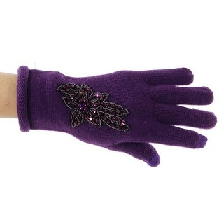 Songbird Beaded Gloves with Touchscreen Compatibility