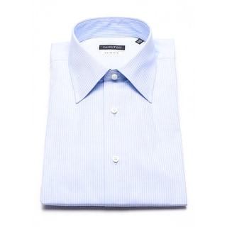 Valentino Men's Slim Fit Cotton Dress Shirt Light Blue - 16.5 us (42 eur)