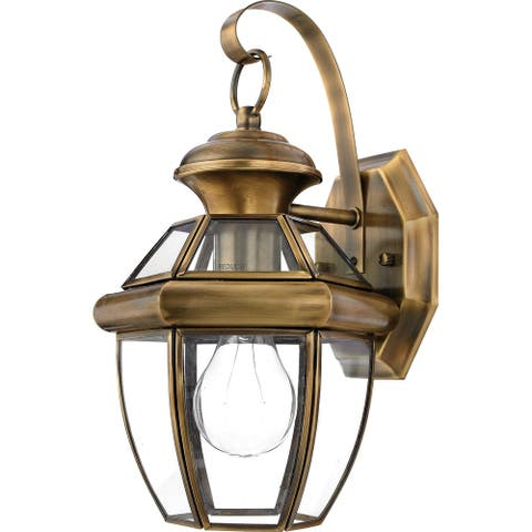 Dullah 1-light Outdoor Wall Lantern by Havenside Home
