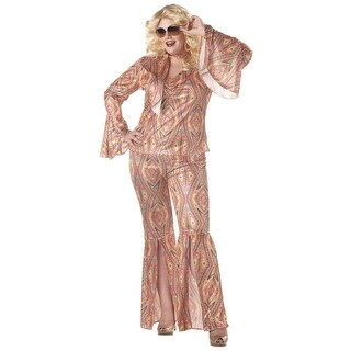 California Costumes Plus Size DiscoLicious costume - MultiColor