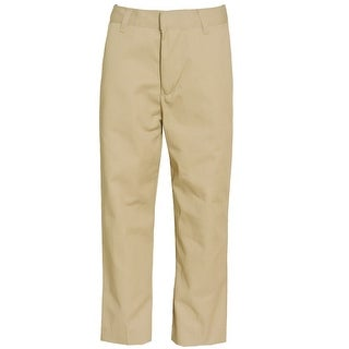 Authentic Galaxy Boys Khaki Button Detail School Uniform Pants