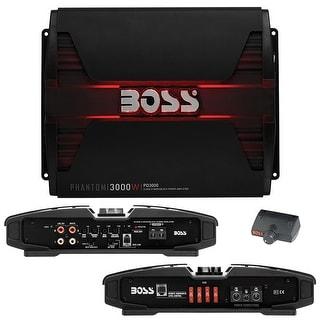 Boss PHANTOM 3000 Watts  Class D Monoblock Power Amplifier Remote Subwoofer Level Control