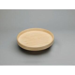 "Rev-A-Shelf LD-4BW-001-20-1 Lazy Daisy Banded Wood 20"" Diameter Full Circle Undrilled Lazy Susan Shelf - Natural Wood - N/A"