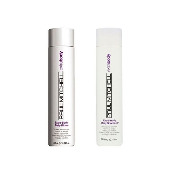Paul Mitchell Extra Body Daily Shampoo & Daily Rinse 10.14 Oz Combo Pack
