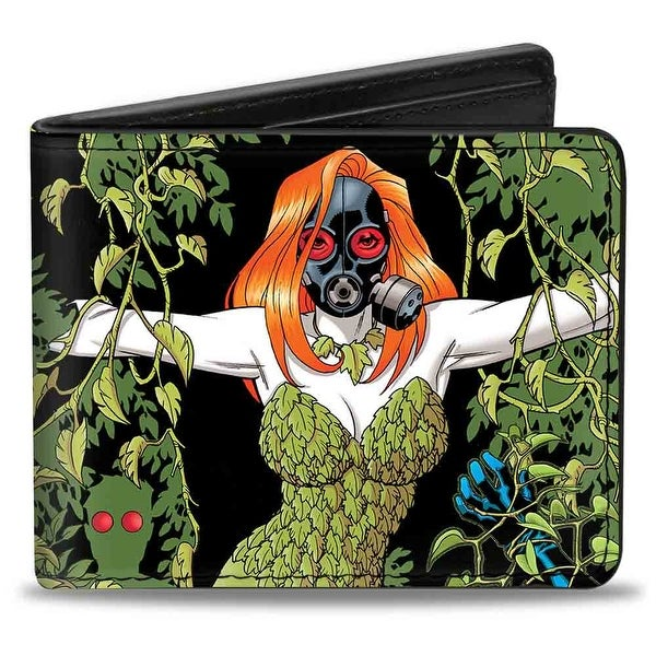 Poison Ivy W Gas Mask Ivy Detective Comics Issue #752 Cover Bi Fold Wallet - One Size Fits most