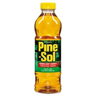Pine-Sol Cleaner Disinfectant Deodorizer 24 oz. Bottle pack of 12