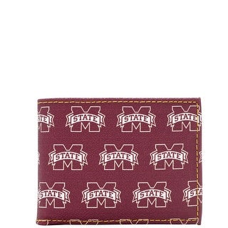 Dooney & Bourke NCAA Mississippi State Credit Card Billfold (Introduced by Dooney & Bourke at $68 in Jul 2015) - Rouge