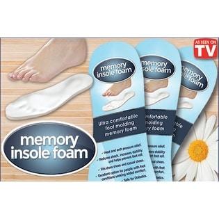 Memory Foam Insoles For Ultra Comfort 3Pk