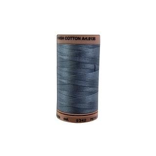 9135 0342 Mettler Silk Finish Cotton 40 500yd Flint Stone