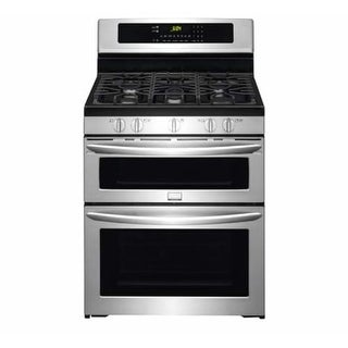 Frigidaire FGGF304DP 30 Inch Wide 5.9 Cu. Ft. Gas Range with Double Ovens - Stainless Steel