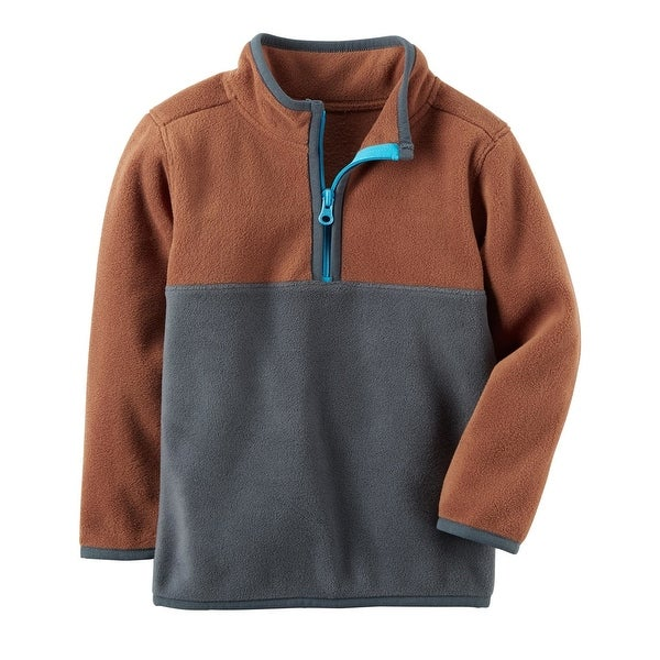 c375531fe800 Shop Carter s Baby Boys  Colorblock Fleece Pullover