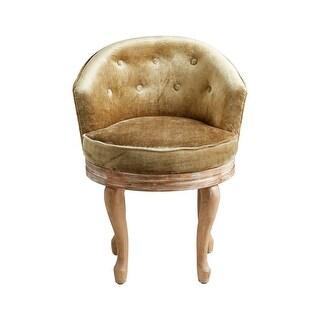 Cyan Design Sir Yorkshire Chair Sir Yorkshire 30.75 Inch Tall Wood Arm Chair - Olive Green