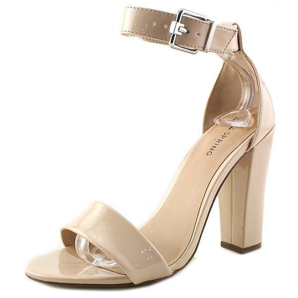 Call It Spring Arther Women Open Toe Synthetic Nude Sandals