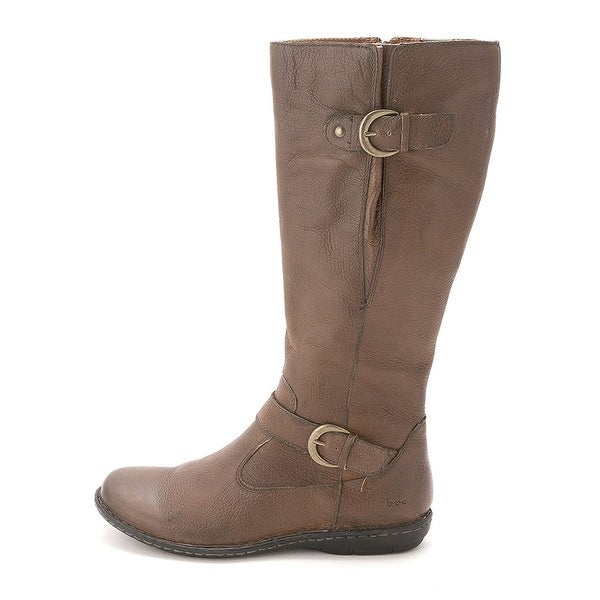B.O.C Womens Faye Leather Closed Toe Knee High Fashion Boots