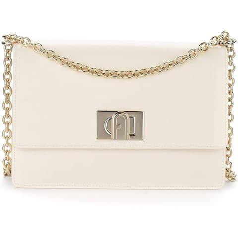 Furla Womens Pargamena White Crossbody Handbag
