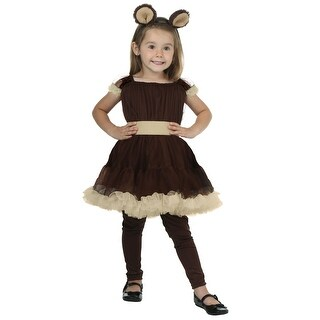 Toddler Girl's Bear Costume - 2T