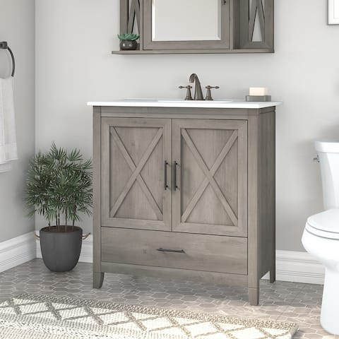 Key West 32W Bathroom Vanity Cabinet by Bush Furniture