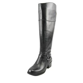 Alfani Biliee Wide Calf Women Black Boots