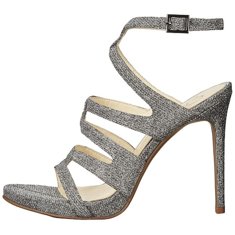 Jessica Simpson Womens Reyse Open Toe Ankle Strap Classic Pumps