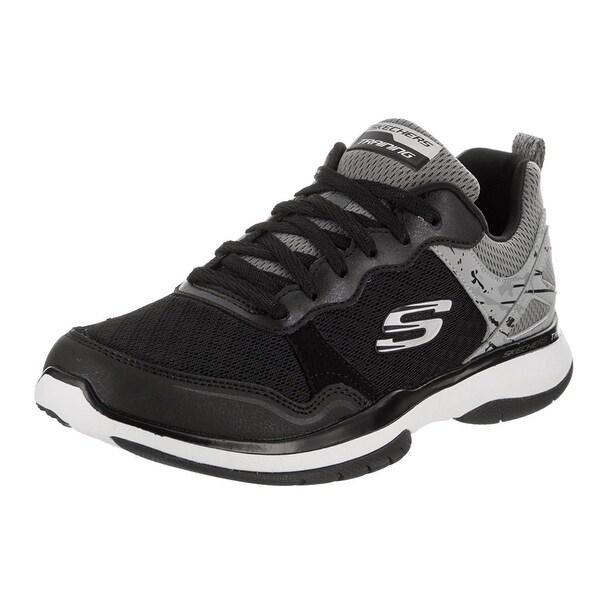 6111f01d7f1e Shop Skechers Burst TR Womens Sneakers Black White - Free Shipping ...