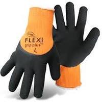 Boss 7842X Flexi Grip Plus High-Vis Orange Latex Palm  XL Glove