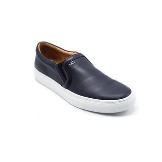 Givenchy Men's Black Leather Skate Shoe Slip Ons