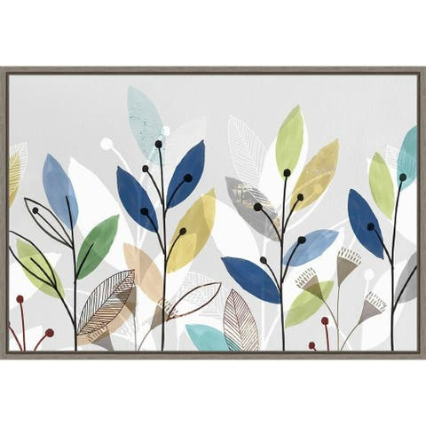 Morning Glory II (Floral) by Isabelle Z Framed Canvas Art